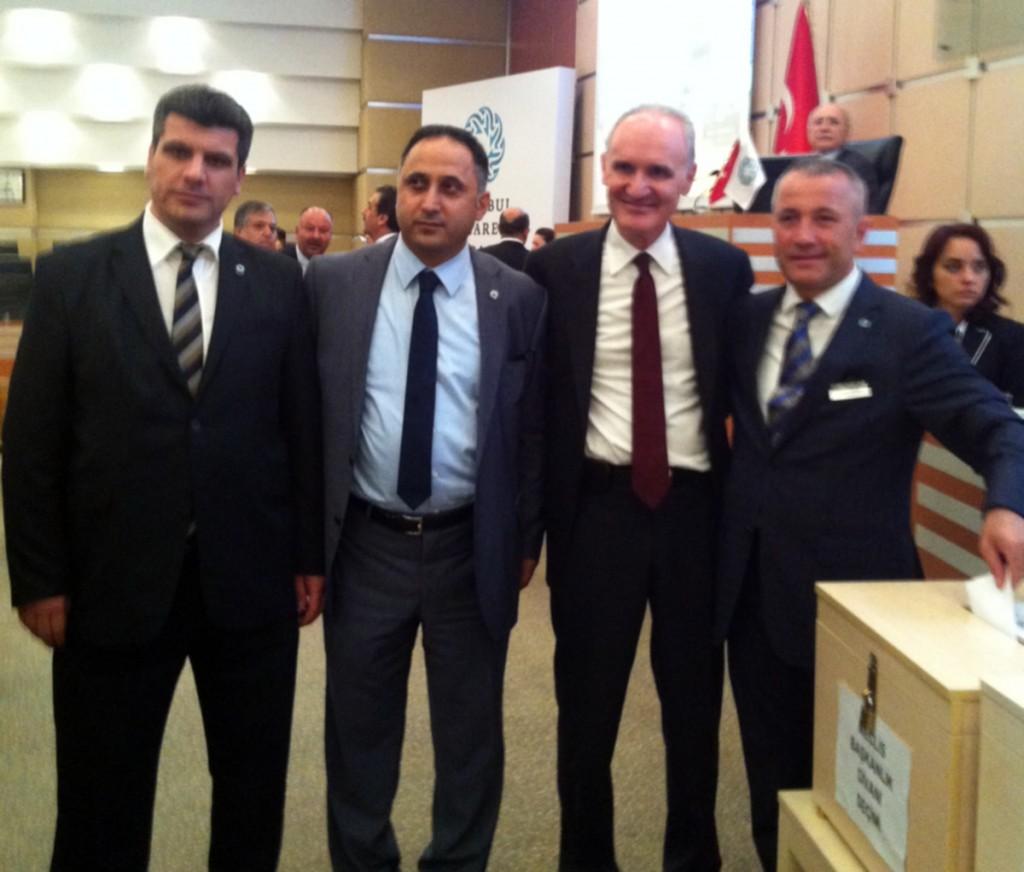 İstanbul Ticaret Odası'nın (İTO) 19'uncu dönem Meclis Başkanı Şekib Avdagiç oldu.
